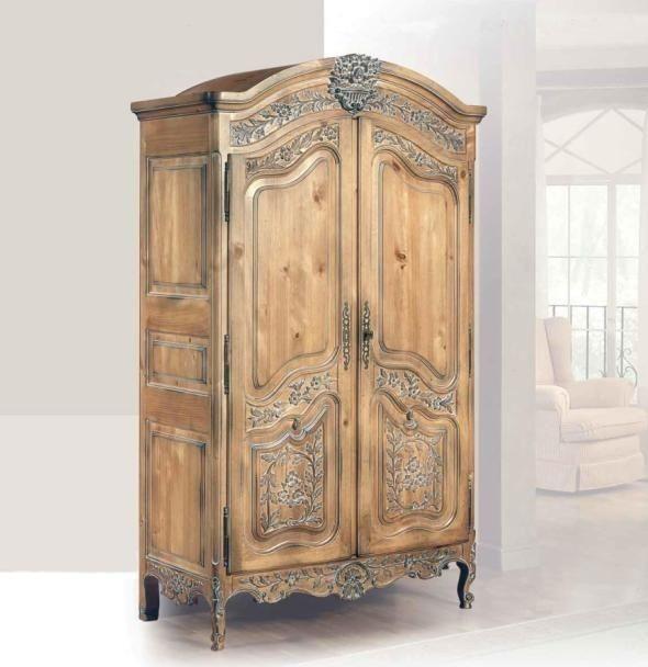 Armario de entrada r stico abel armarios de entrada for Armarios roperos rusticos baratos