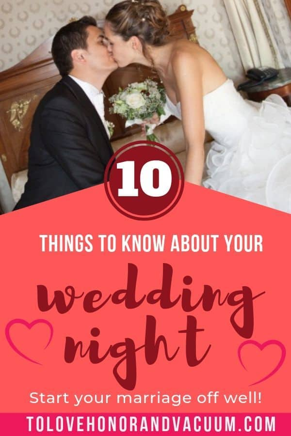 Top 10 Things To Know About Your Wedding Night Wedding Night Tips Wedding Night Marriage Night