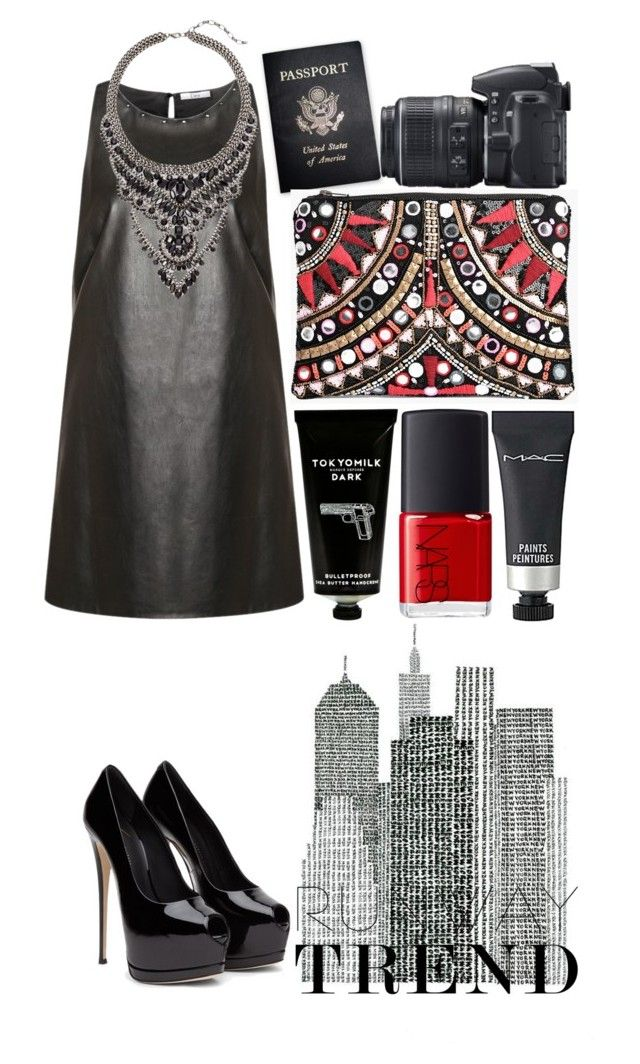 """""""NYFW - 2016 Contest outfit"""" by javorkozima ❤ liked on Polyvore featuring Dex, Cristabelle, TokyoMilk, MAC Cosmetics, Passport, Nikon, Boohoo and NARS Cosmetics"""