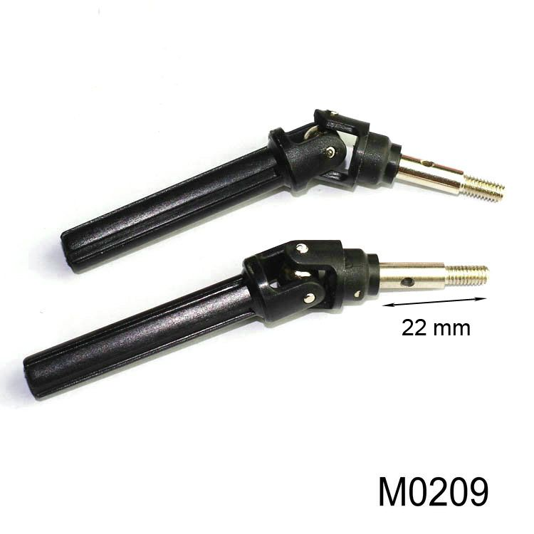 M0209 M0210 Front And Rear Dog Bone For 1 10 Remote Control Rc
