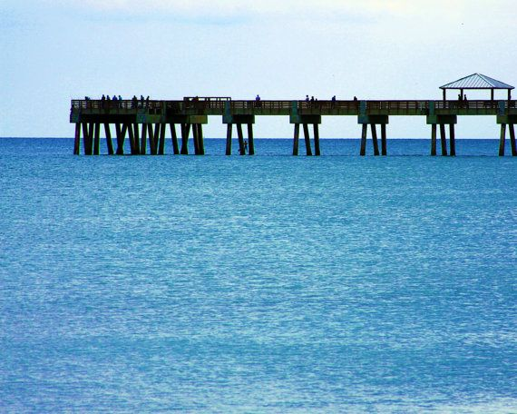 pier over the turquoise sea