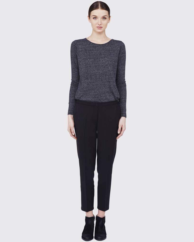 Minimum Halle Pants Black