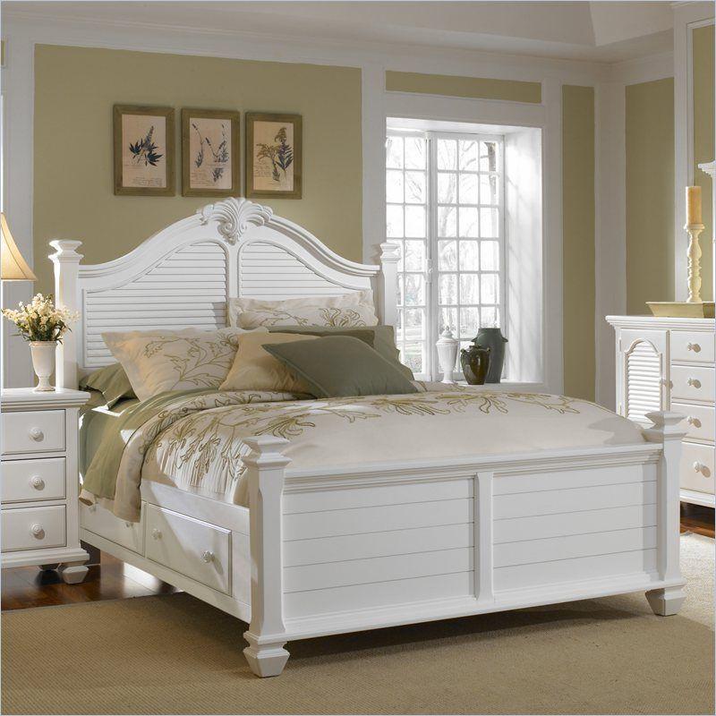 Best Broyhill Mirren Harbor Poster Storage King Size Bed In 400 x 300