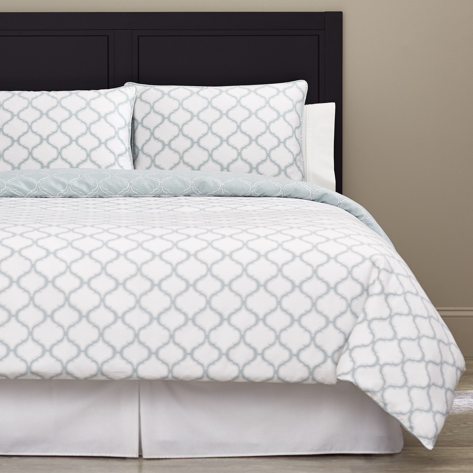 3 piece vanessa cotton duvet cover set reviews joss main