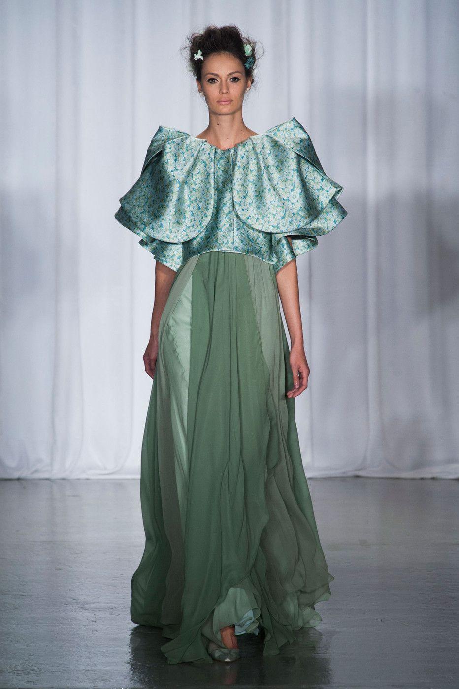 Zac Posen at New York Fashion Week Spring 2014 (With