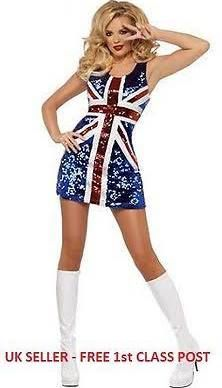 9011beb2993f spice girl costumes - Google Search | Costumes | Union jack dress ...