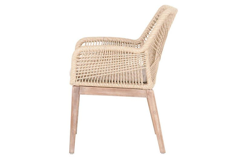 S 2 Easton Armchairs Sand Furniture Dining Arm Chair Outdoor