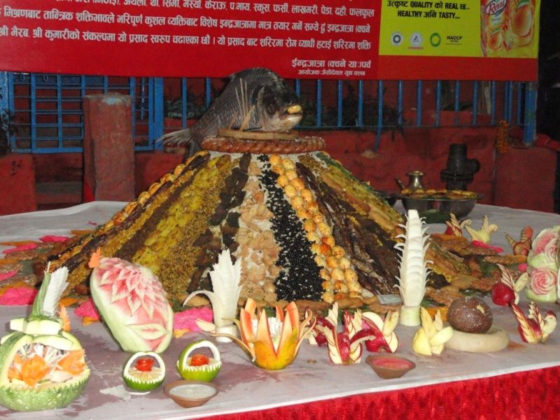 A special Newari cuisine made for special occasions. Its