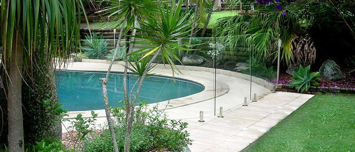 Frameless Glass Pool Fencing Brisbane Gold Coast Aqua Vista Glass Pool Fence Glass Pool Fencing Pool