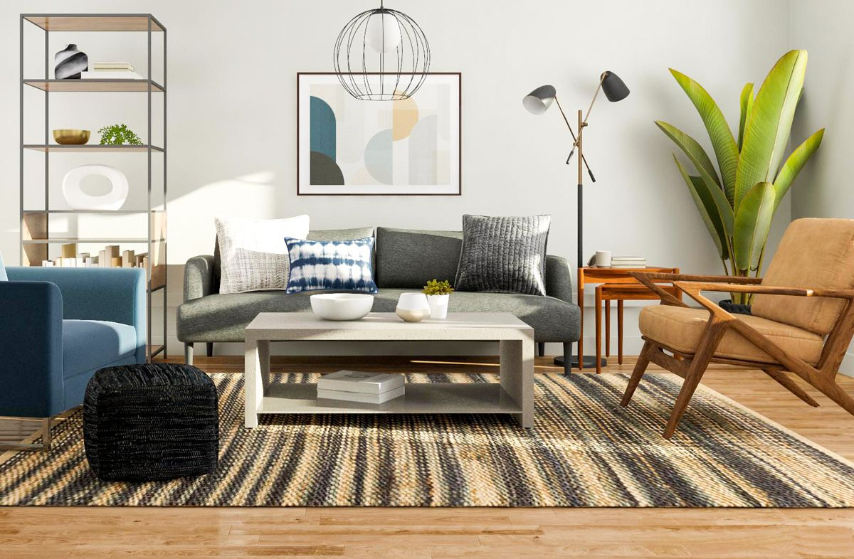 Modern Living Room Design – 5 Ways to Try a Mid Century