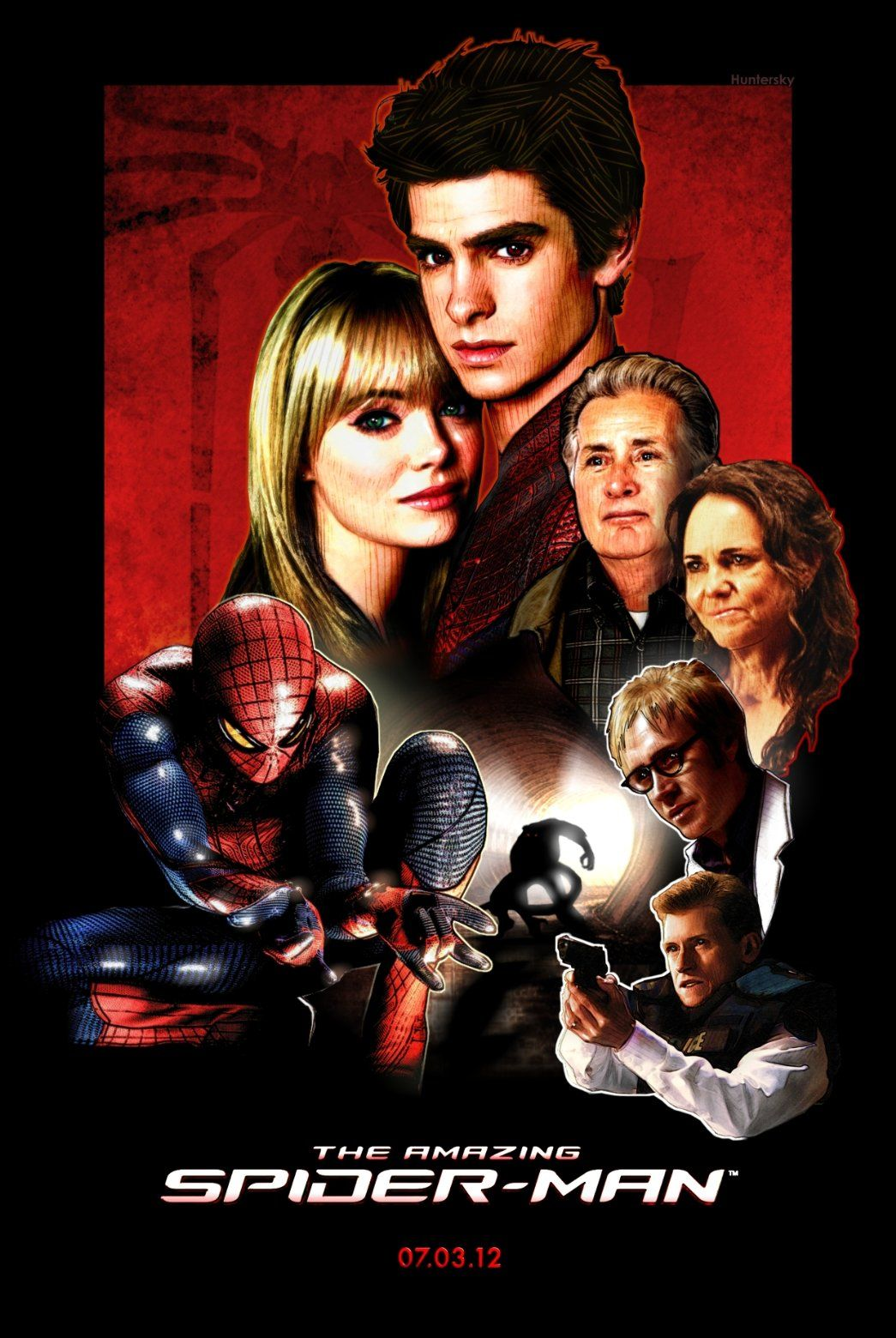 the amazing spider-man fan movie poster | tv, movies, books, music