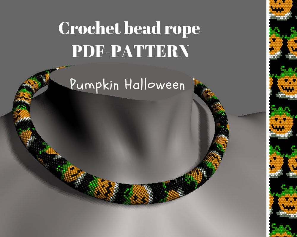 Beaded necklace pattern pumpkin halloween beaded rope pdf beaded necklace pattern pumpkin halloween beaded rope pdf tutorial beading scheme seed bead bracelet crocheted necklace diy beading bankloansurffo Image collections