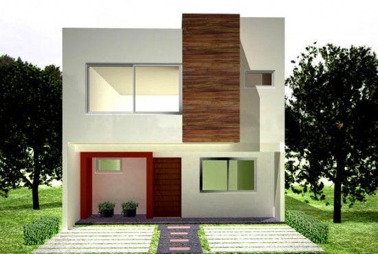 Fotos de fachadas de casas modernas de un piso dise o de for Fotos de interiores de casas