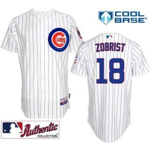 meet 94333 111ef Ben Zobrist Jersey, Ben Zobrist Shirt | Chicago Cubs Ben ...