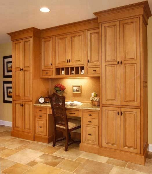 Floor To Ceiling Kitchen Cabinets: Extra Storage And Work Space