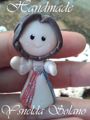 Ysnelda Solano : Paso a paso Jesusito en Porcelana Fría.