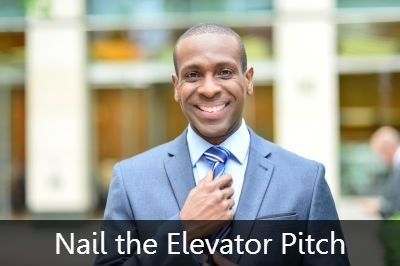 getting ready for elevator pitch