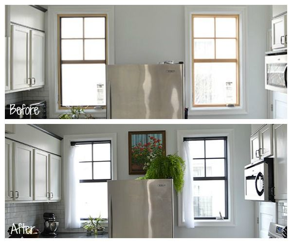 Window Painting 101 And 102 Sarah S Big Idea Interior Windows Interior Window Trim Painting Vinyl Windows