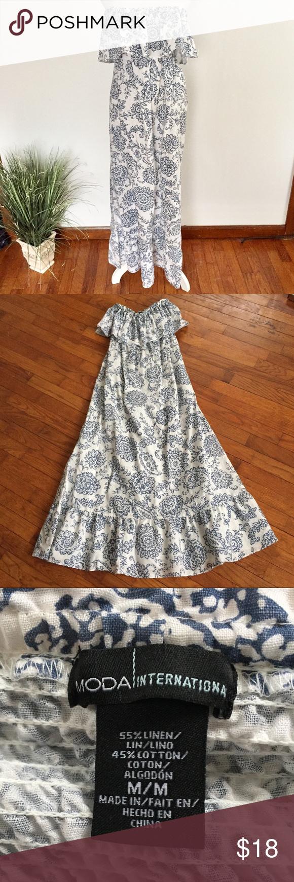 Victoria S Secret Strapless Ruffle Maxi Dress Ruffled Maxi Dress Dresses Maxi Dress [ 1740 x 580 Pixel ]