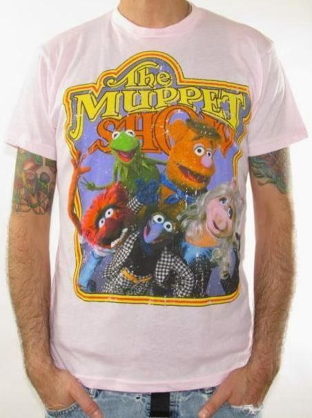 8a7cad7e Click for Full Size Image of Muppets, T-Shirt, The Muppet Show | TV ...
