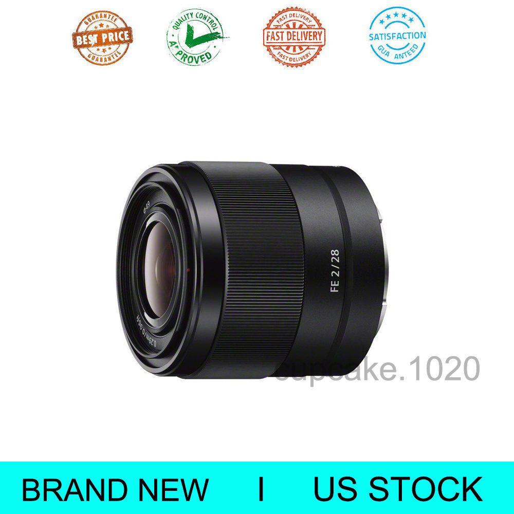 New Sony SEL28F20 FE 28mm F2 E-mount Full Frame Prime Lens | Common ...