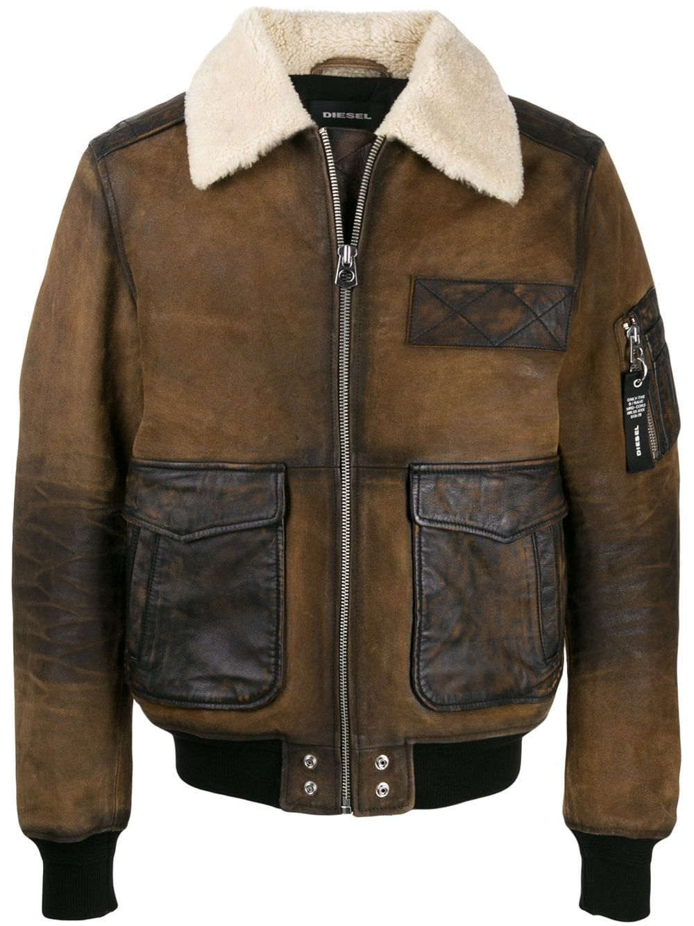 Aviator jacket in crust leather Aviator jackets, Jackets
