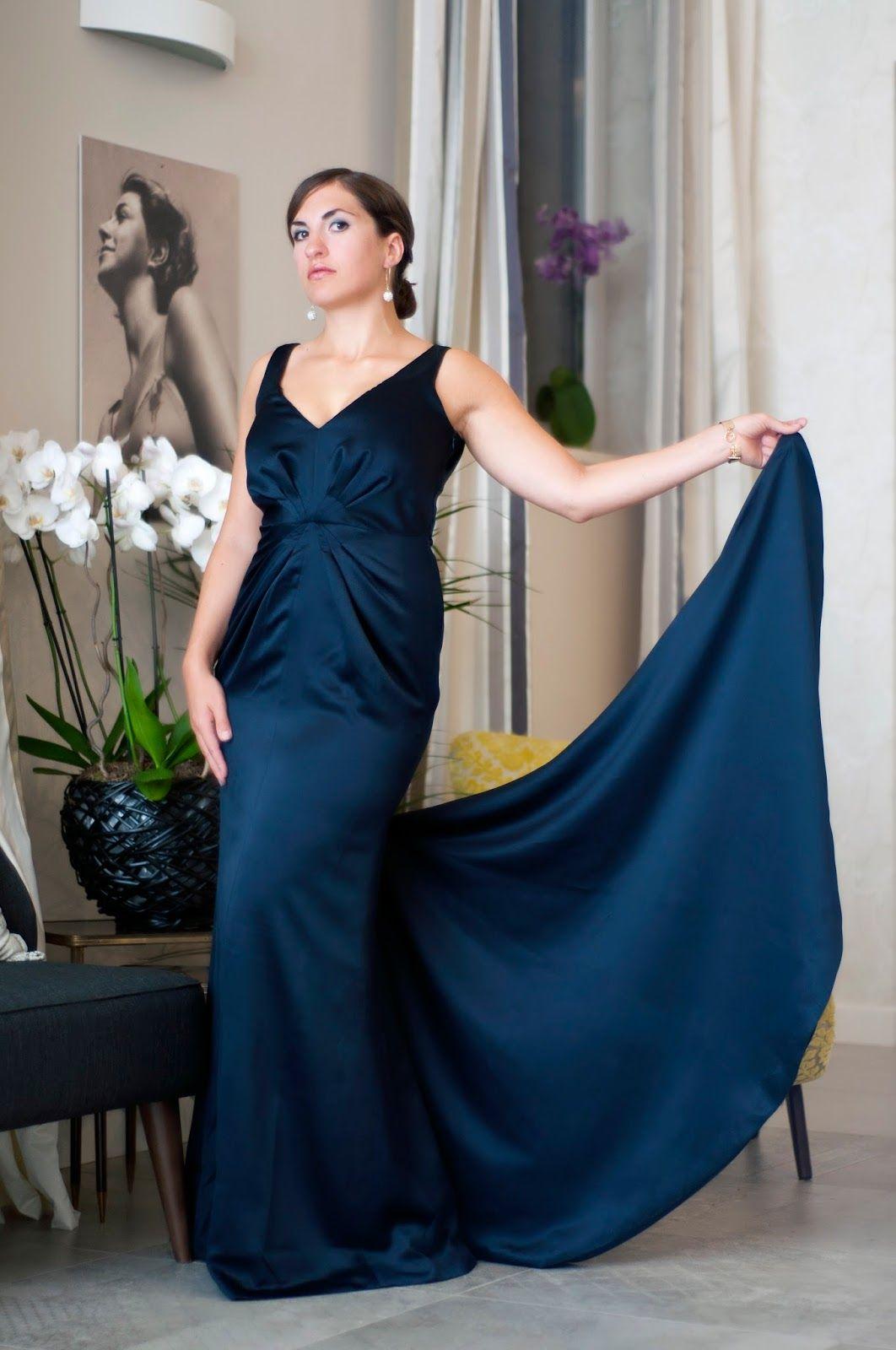 Schnittmuster Abendkleid - Burda Style #124 Nov. 2011 | My Sewing ...