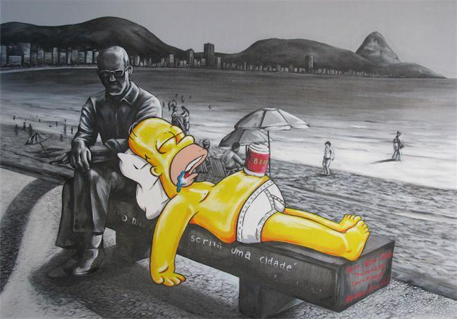 Obra de Alex Melo, artista destacado na coluna Brasil Criativo, pela Conexão Cultural