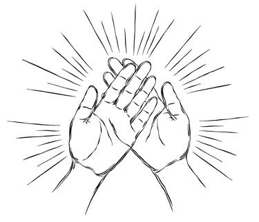 Free download Healing Hands Clipart for your creation