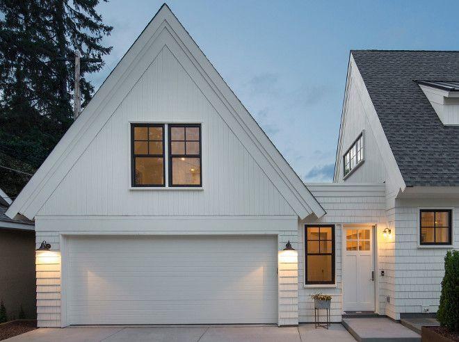 44 Inspiring Home Interior Design Ideas With A Car Garage Https Petrolhat Com 2019 03 10 44 Inspiring Home I Garage Door Design Garage Exterior Garage Design