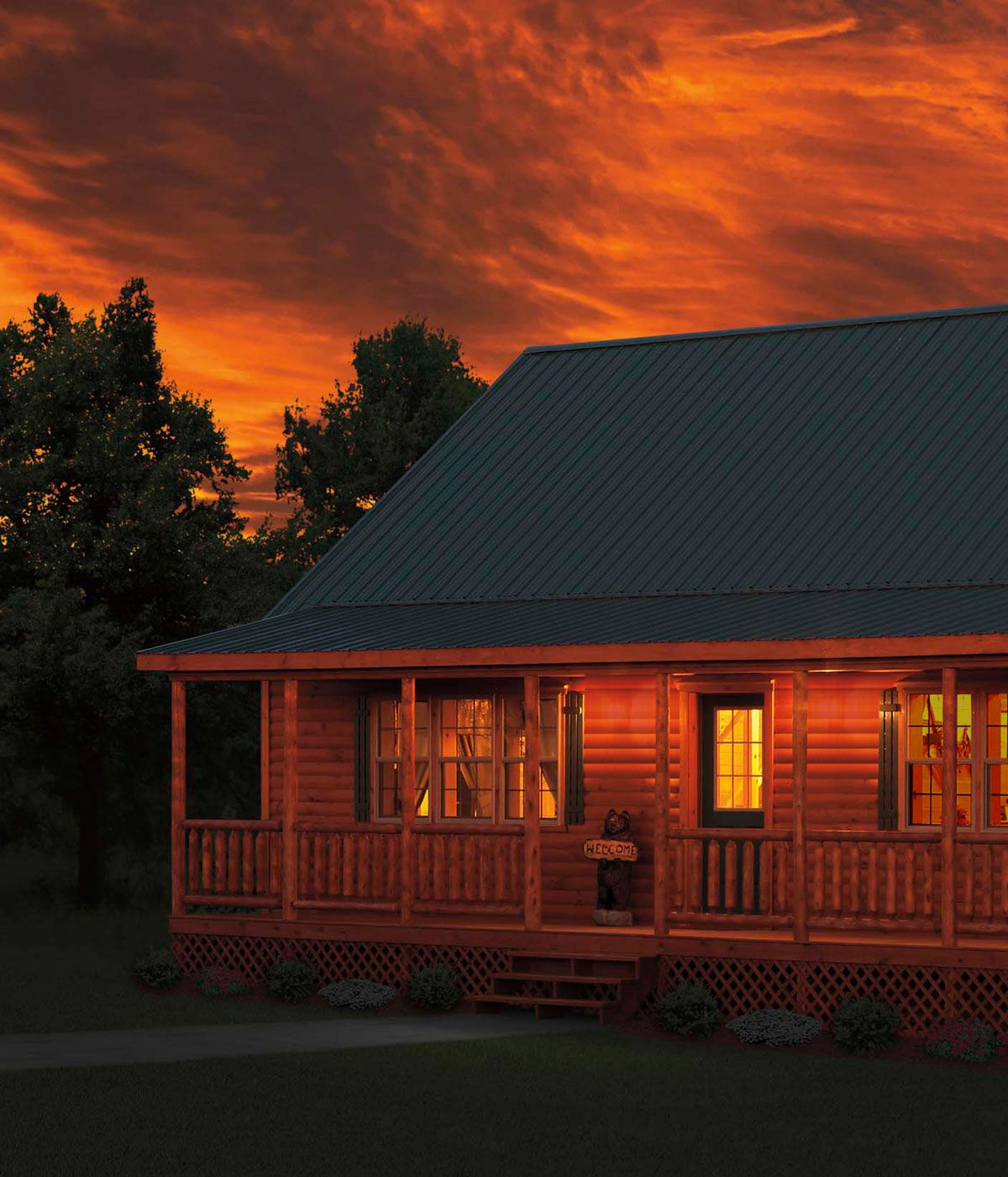 Log Cabins For Sale | Log Cabin Homes | Log Houses | Zook ...