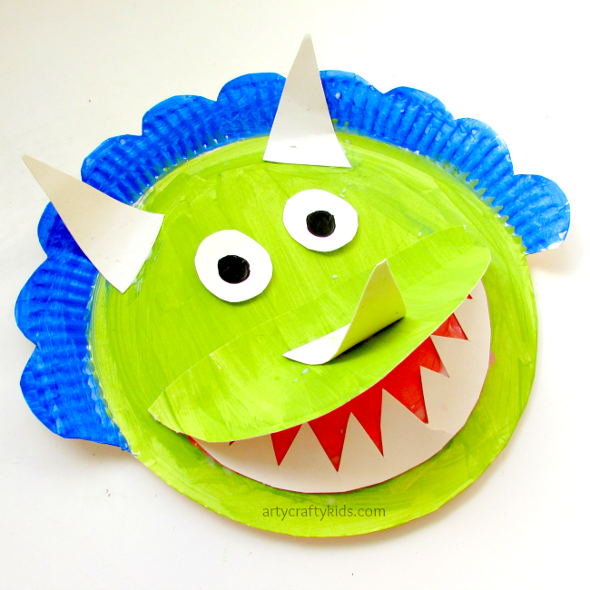 Paper Plate Triceratops  sc 1 st  Pinterest & Paper Plate Triceratops | Crafty kids Crafty and Craft