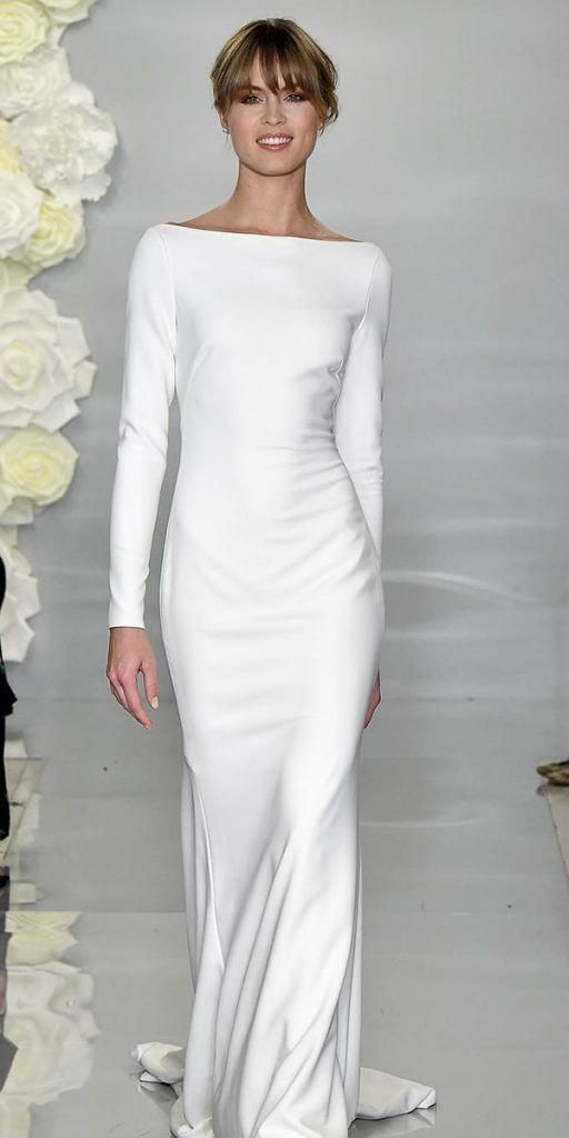 Photo of 24 Satin Wedding Dresses For The Minimalist Bride | Wedding …