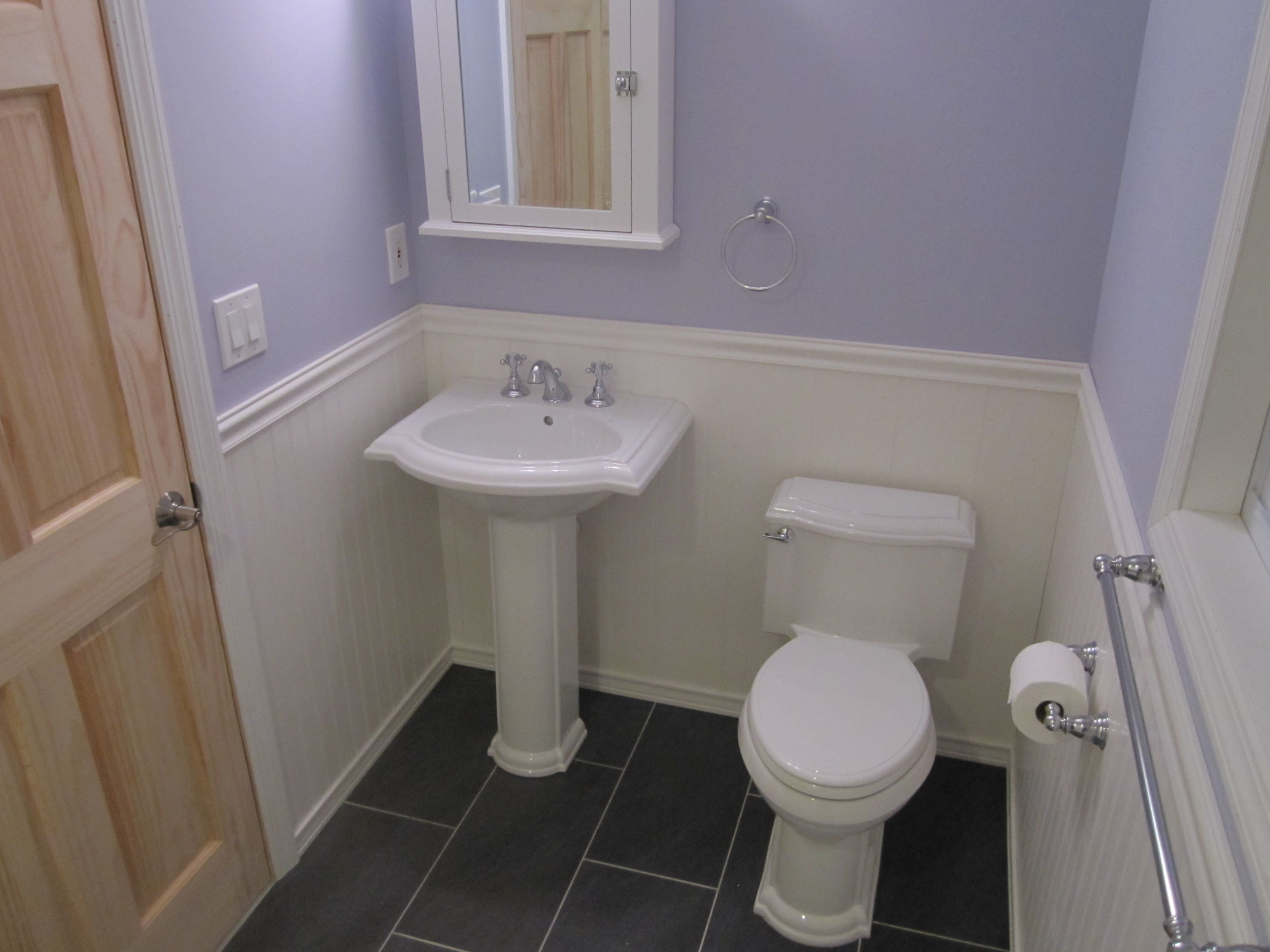 Stylish ttw wainscoting bathroom luury accessories in and