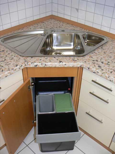 Schön küchenmöbel eckschrank Deutsche Deko Pinterest - spüle für küche