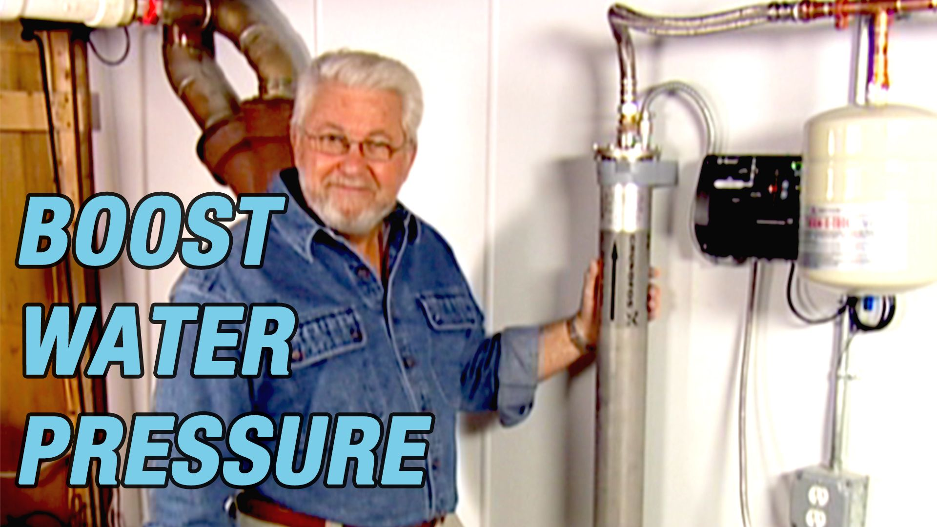 Do You Have Low Water Pressure Here S How To Use A Booster To Increase The Water Pressure In Your Home Low Water Pressure Pressure Boosters