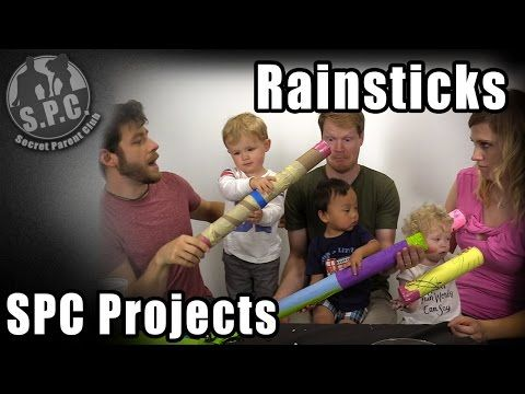 How to make a Rainstick - SPC Projects - YouTube