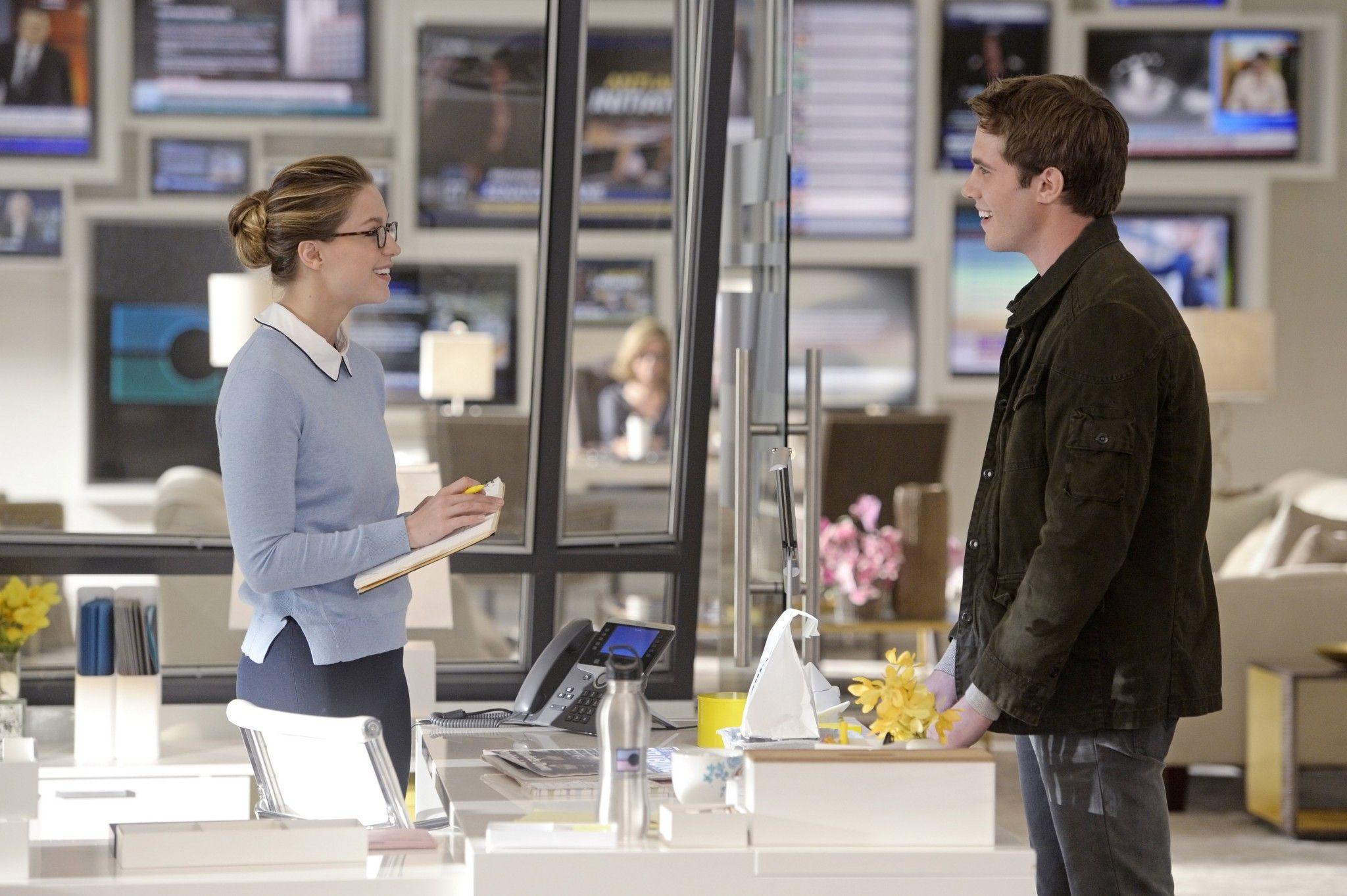 Supergirl Melissa Benoist And Blake Jenner