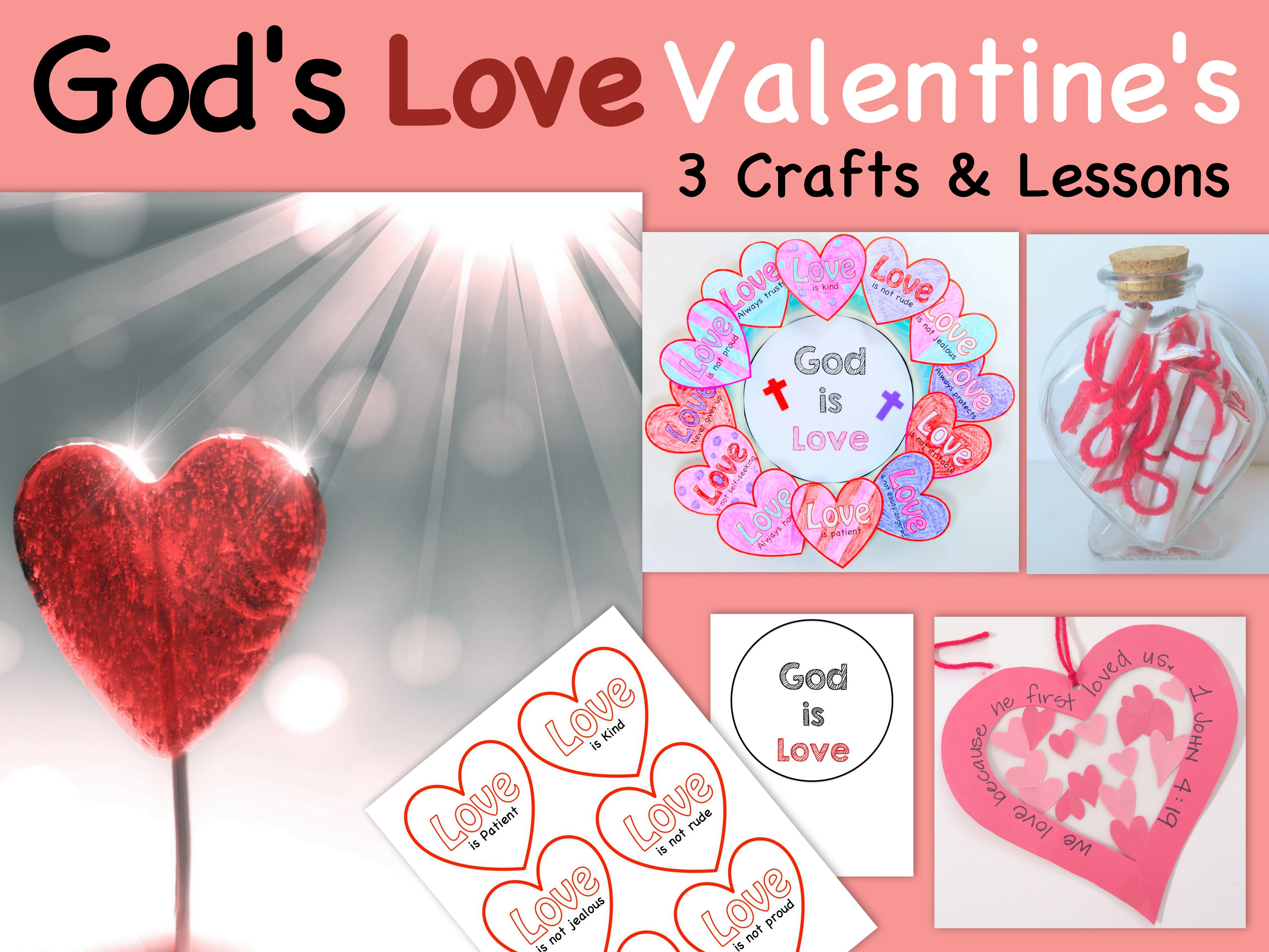 School · Valentineu0027s Day Craft And Lesson ...