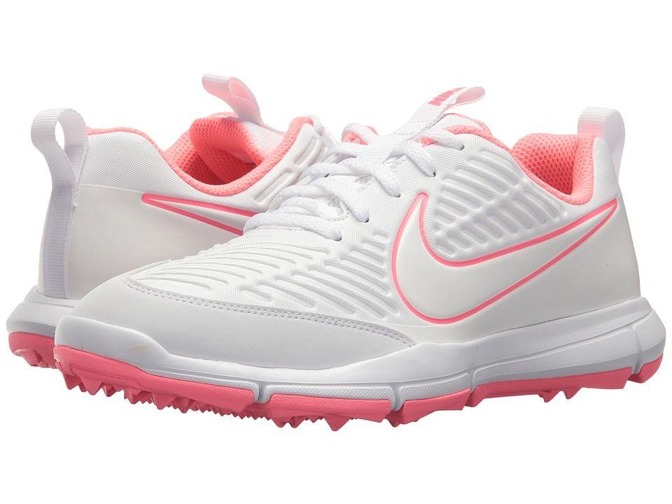 bbbc69c66ce53 Nike Golf Explorer 2 (White White Sunset Pulse) Women s Shoes ...
