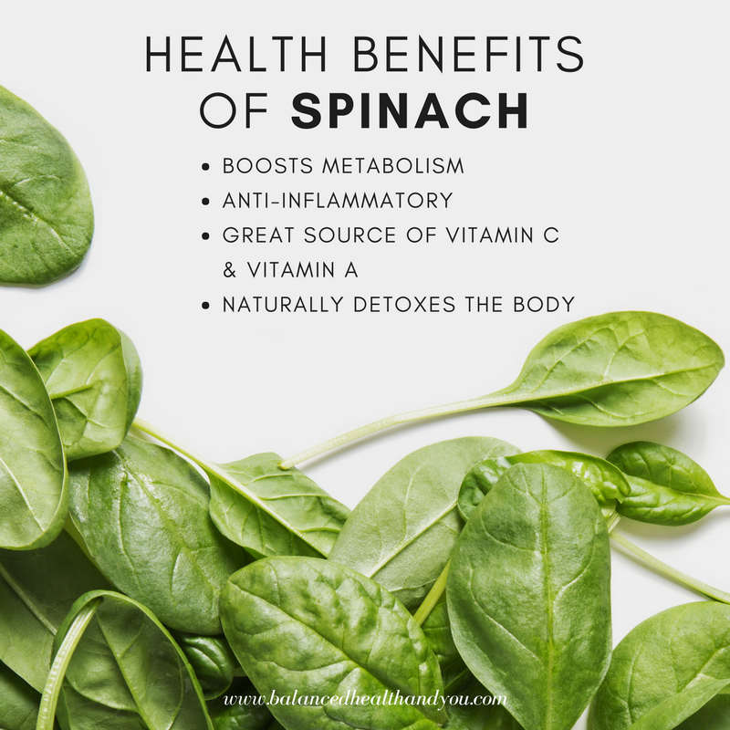 Spinach for breakfast, lunch and dinner. This is a power food that you should have on your shopping list every week.  What's your favorite spinach recipe?