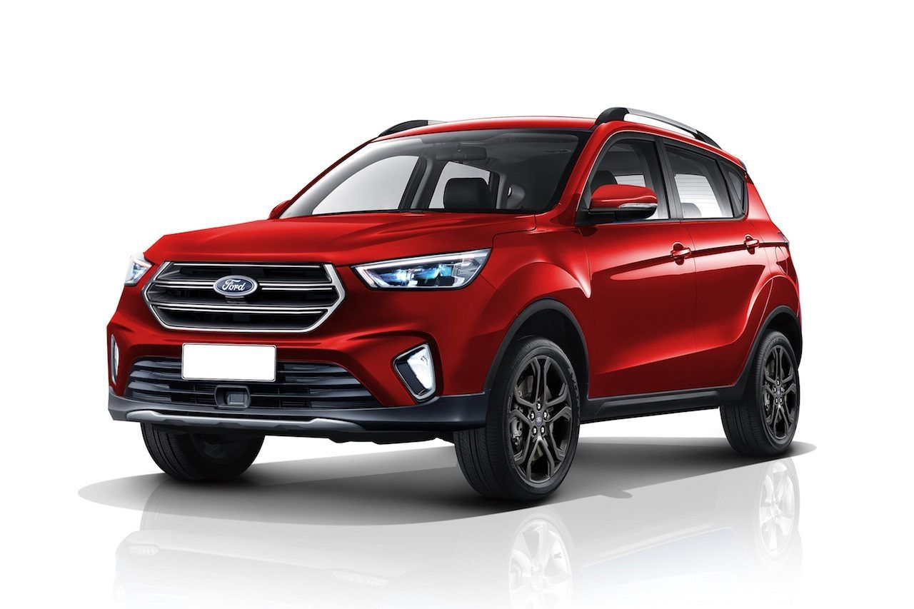 2020 Ford Ecosport Apes The Ford Kuga In A New Rendering Spy Shoot Ford Ecosport Ford Kuga Jeep Prices