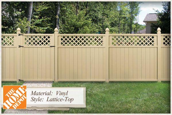 Home Depot Vinyl Fencing Styles Vinyl Fence Panels Home Depot