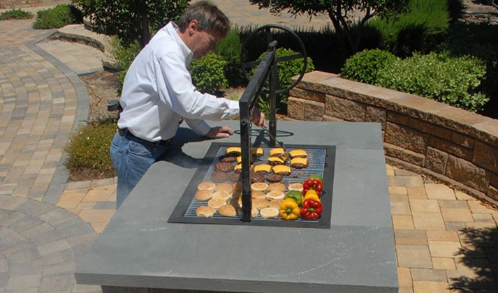 Viking Pavers Installs Outdoor Kitchens And Bbq Islands That Can Be Fully Customized Read More Here Bbq Island Outdoor Kitchen Backyard Bbq