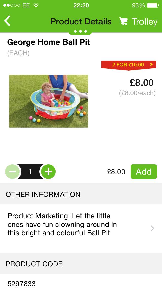 Garden toys ASDA | Outdoor toys/equipment for Summer Time | Pinterest