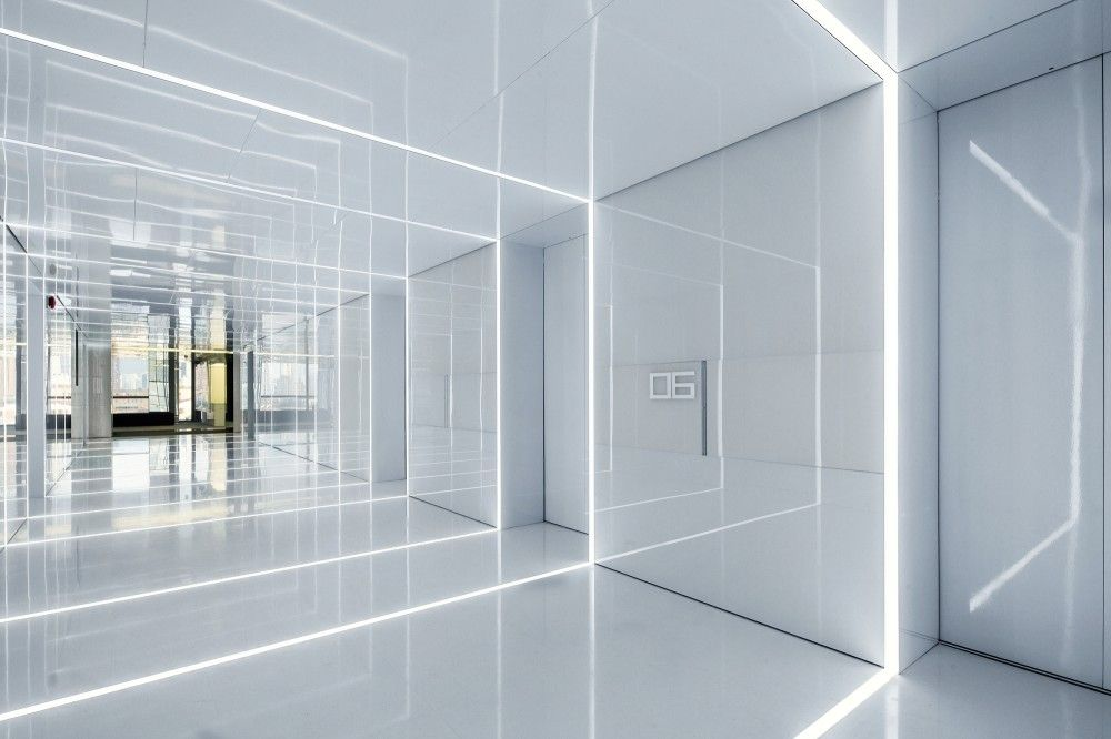Gallery Of Glass Office Soho China Aim Architecture 15