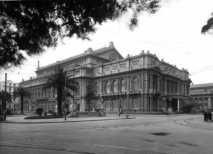 Resultado de imagen para teatro colon 1920