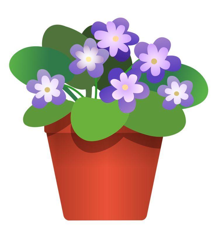 clip art flowers potted plants pinterest clip art rh pinterest com flower teapot clip art flower pot clip art free
