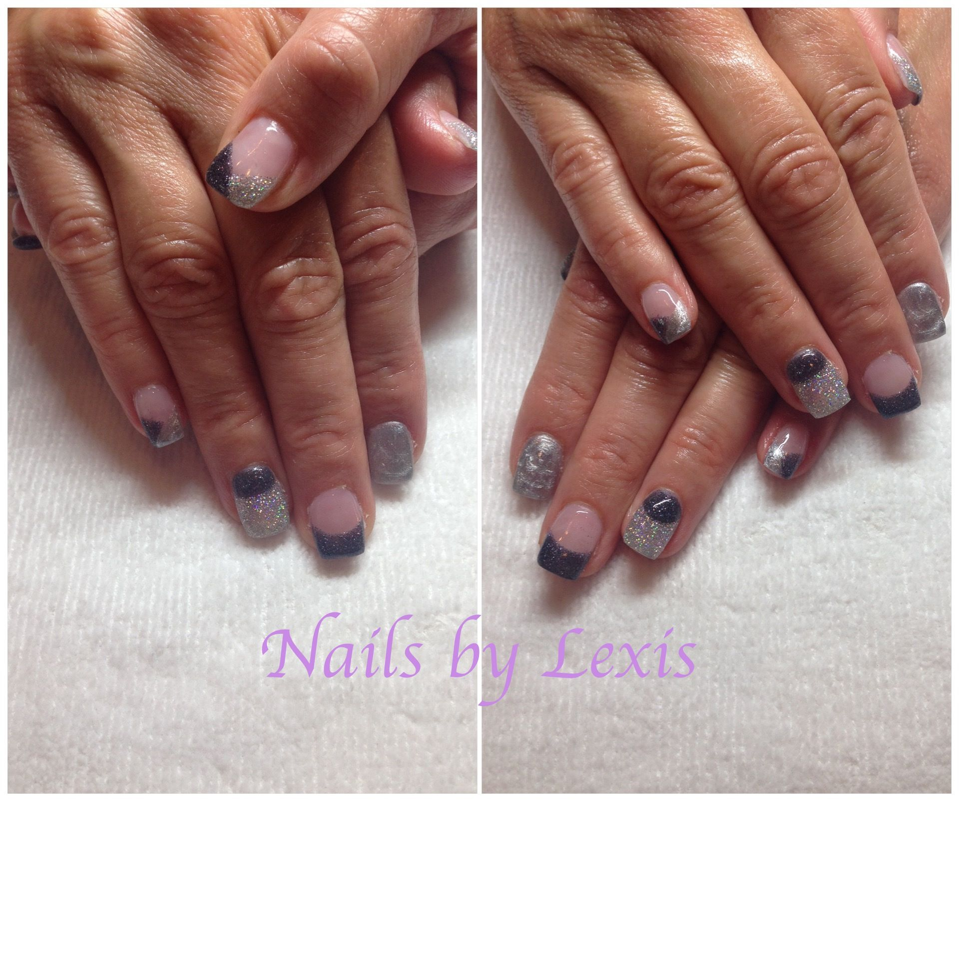 Fuzion gel nails by Lexi! 50 shades, 3 blind mice, disco. | Nails ...