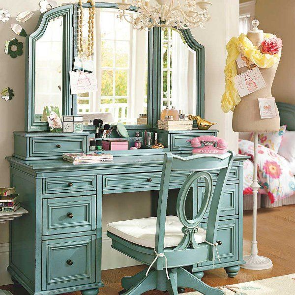Functional Chelsea Vanity With Mirror Shabby Room And Vintage Ideas